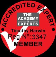Tim Harwin AoE membership seal