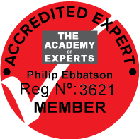 Academy of Experts accreditation No. 3621